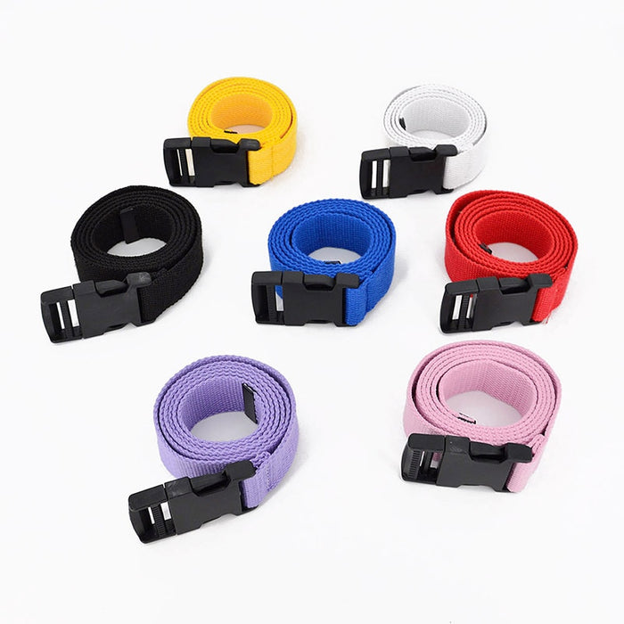 Black Canvas Belt For Woman Female Waist Belts - GEEKMANN✓