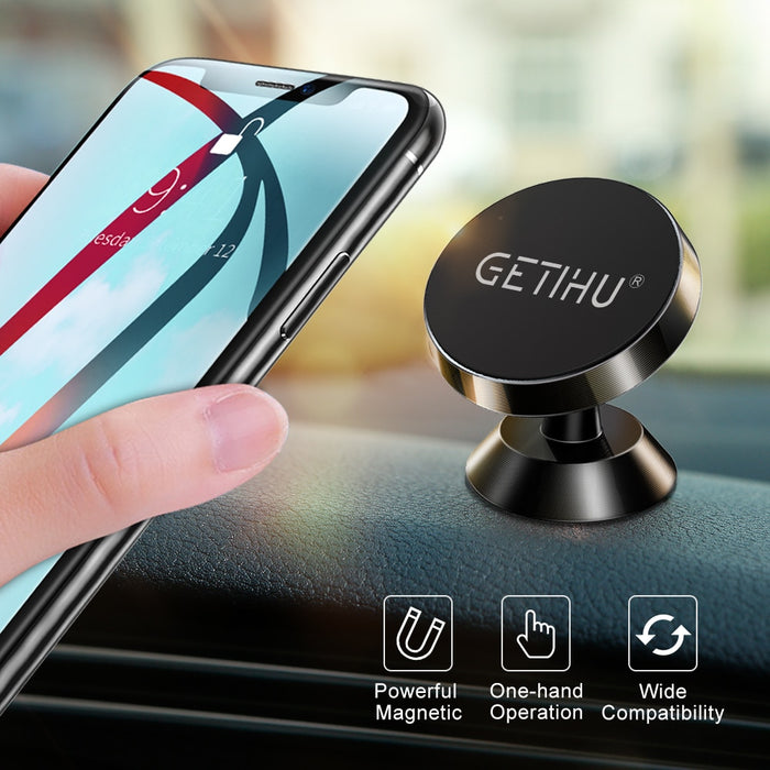 Universal Magnetic Car Phone Holder Stand in Car Support GPS - GEEKMANN✓