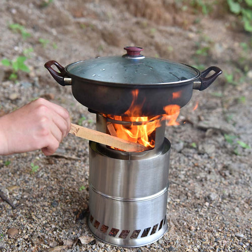 Bump Outdoor Camping Furnace End Deconstructable Bonfire