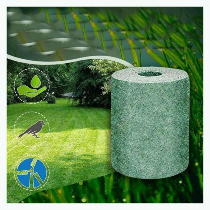Biodegradable Grass Seed Mat Seed Starter Ecological Blanket - GEEKMANN✓