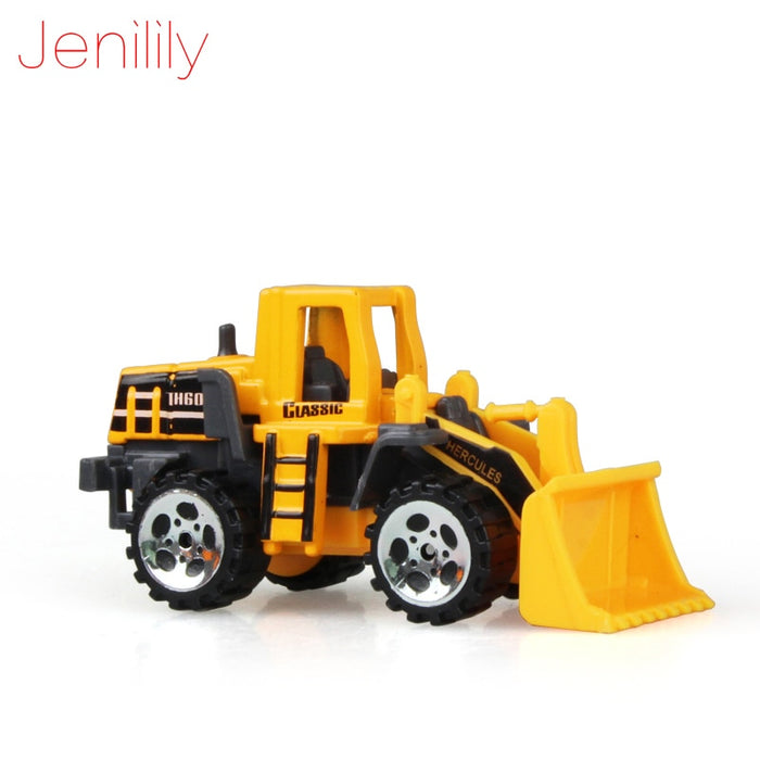 Mini Diecast Car Construction Vehicle Engineering toy Excavator - GEEKMANN✓