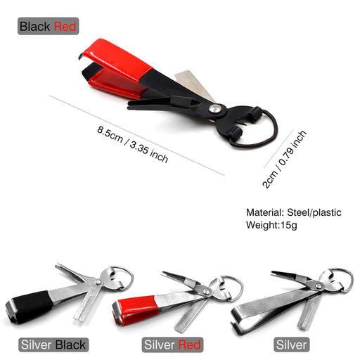 Fly Fishing Quick Knot Tool Nail Knotter Lines Clipper Hook - GEEKMANN✓