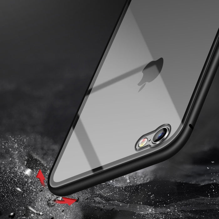 Magnetic Tempered Glass Phone Case Cover - GEEKMANN✓