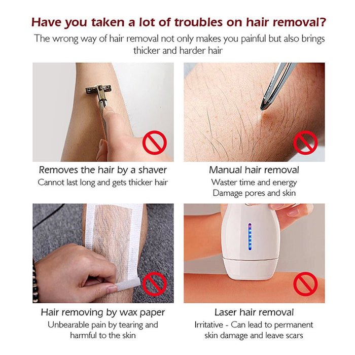 Natural Permanent Hair Removal Spray Liquid - GEEKMANN✓