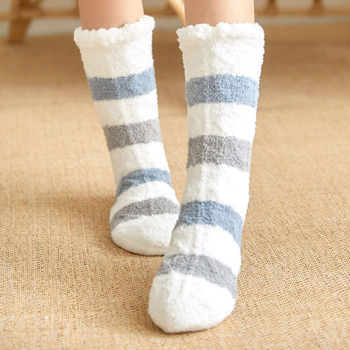Wool Home Month Sock Fall Winter Warm Velvet Socks - GEEKMANN✓