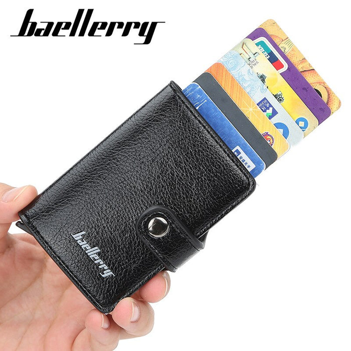 Credit Card Holders Business ID Card Case Automatic wallet - GEEKMANN✓