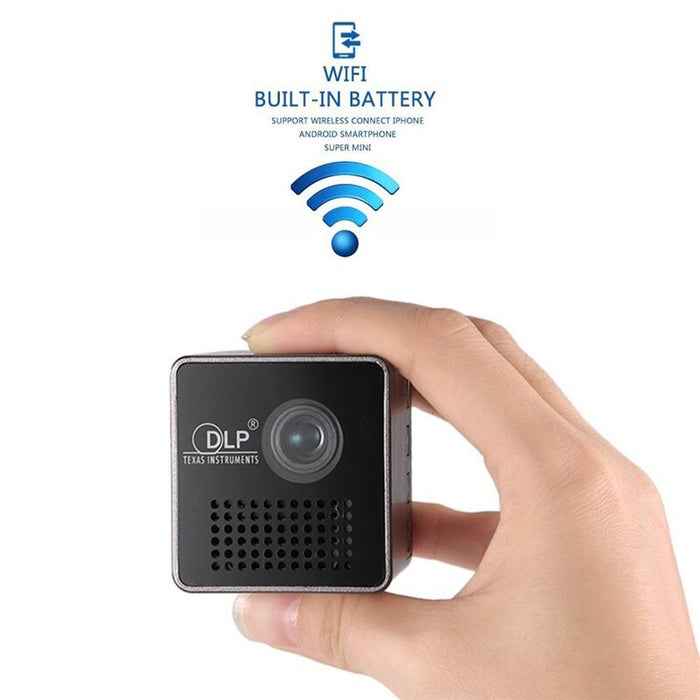 New Original P1+ WIFI Wireless LED Smart Mini Projector - GEEKMANN✓
