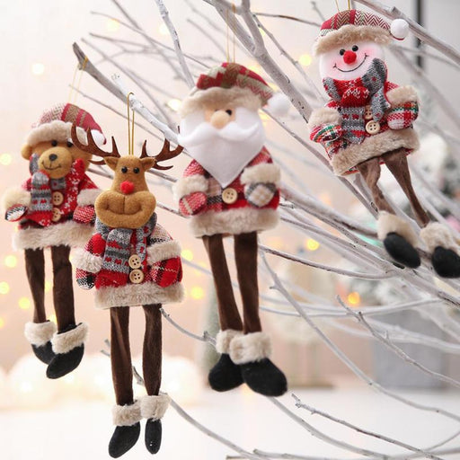 New Year 2020 Christmas Dolls Santa Claus/Snowman/Elk Noel Tree - GEEKMANN✓
