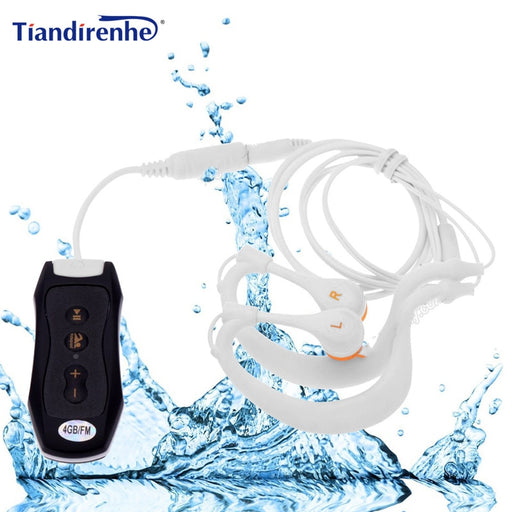 Waterproof MP3 Music Player Swimming - GEEKMANN✓