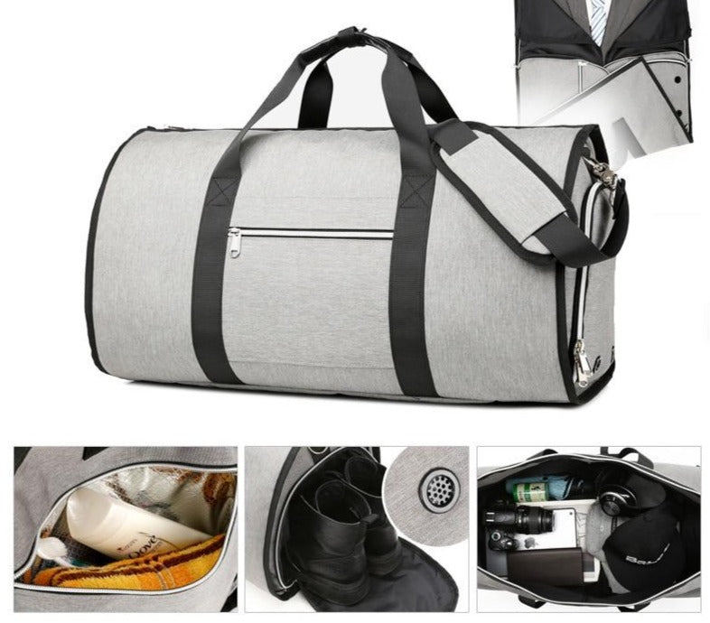 OZUKO Large Capacity Men Travel Bag - GEEKMANN✓