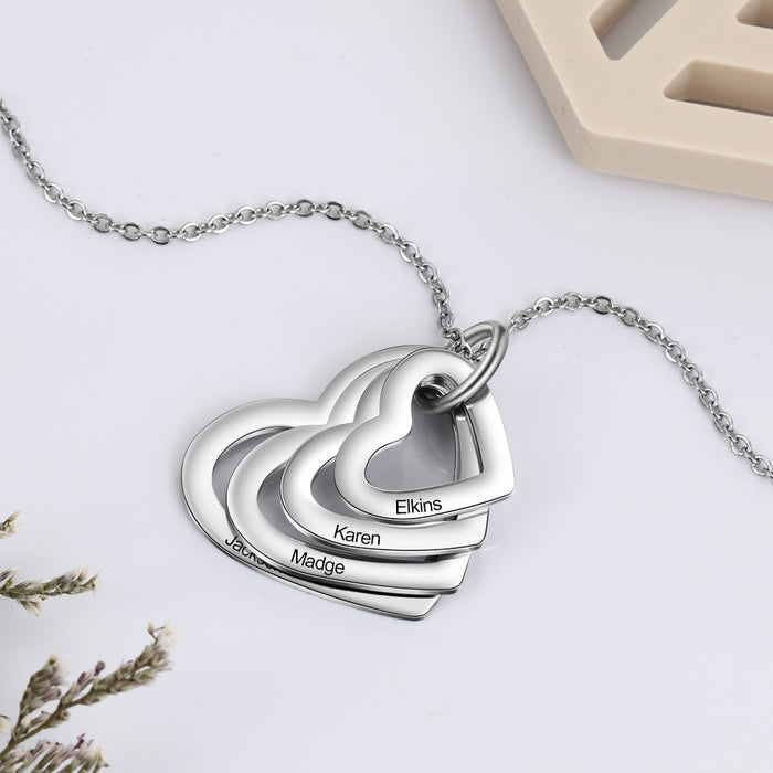 Personalized Necklaces Fashion Stainless Steel Jewelry - GEEKMANN✓