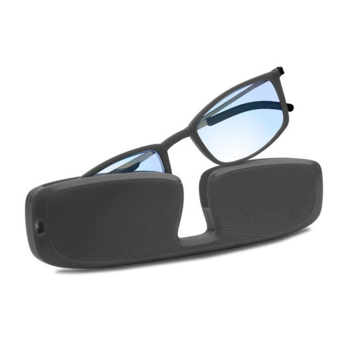 Portable Metal Frame Anti blue Light Reading Glasses - GEEKMANN✓