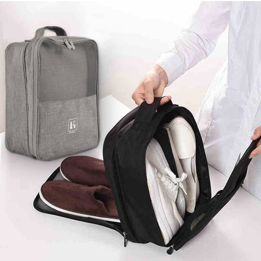 Portable Shoes Bags Polyester Foldable Pouch Beach Storage Bag - GEEKMANN✓
