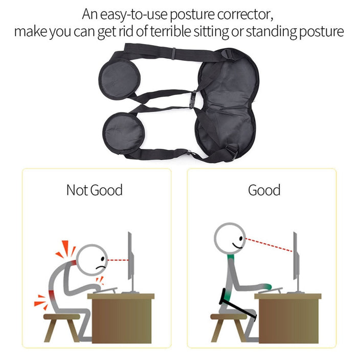 Professional Sitting Posture back Correction Belt Adjustable - GEEKMANN✓