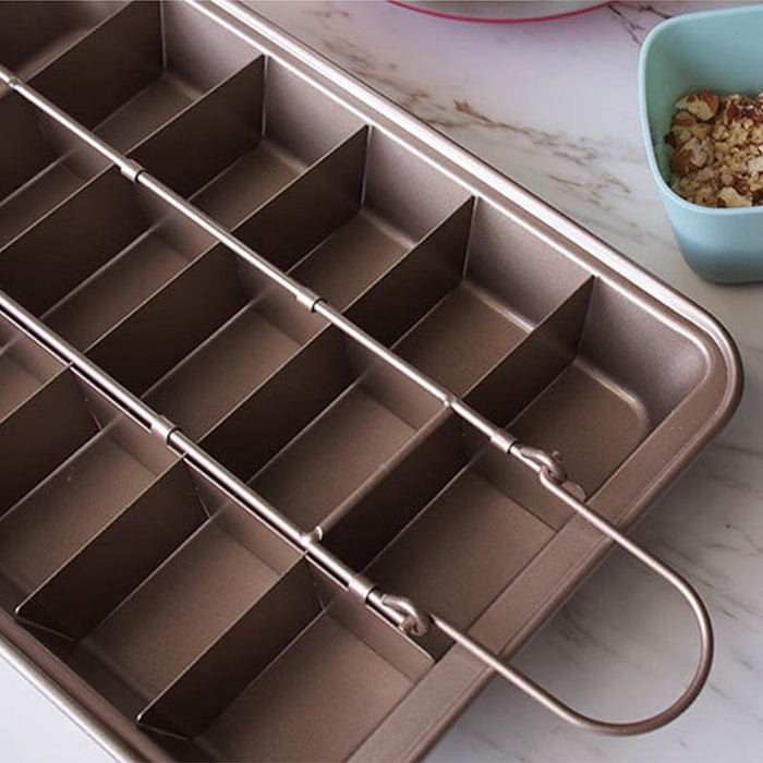 Bakeware Chocolate Cake Mold Cavity Carbon Steel Square Baking - GEEKMANN✓