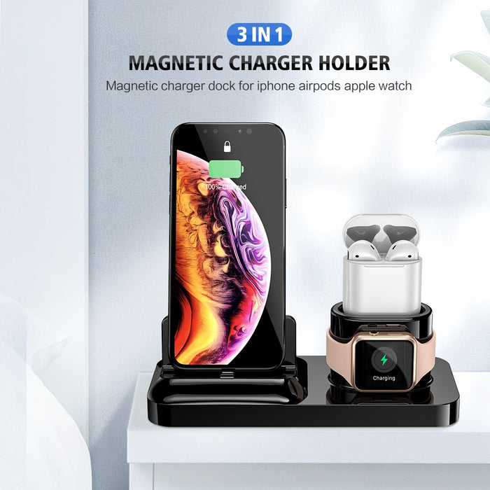 Magnetic Phone Wireless Charger 3 in 1 - GEEKMANN✓