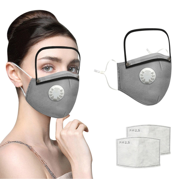 Reusable mask cotton mask for face mask eye shield - GEEKMANN✓