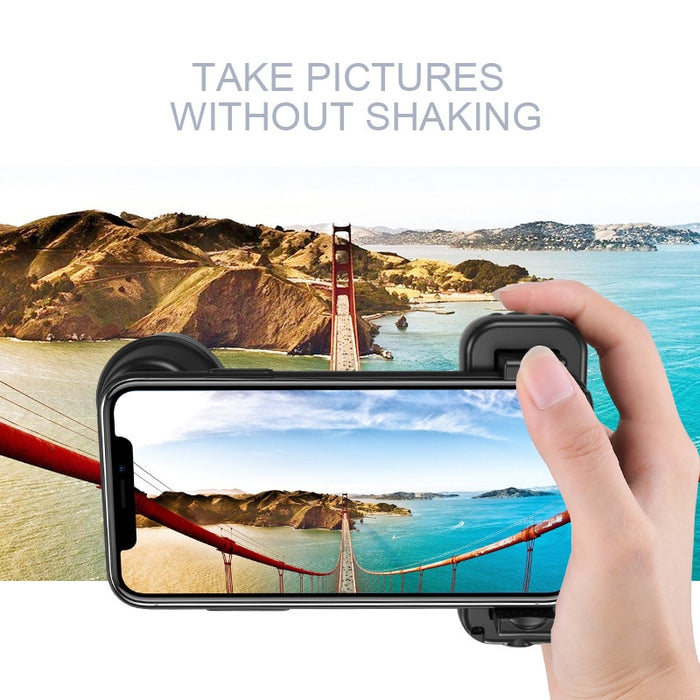 Selfie Booster Handle Grip Bluetooth Photo Stablizer Holder Shuttergrip - GEEKMANN✓