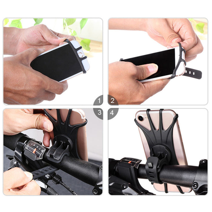 Silicone Bicycle Phone Holder Balance Car Bicycle - GEEKMANN✓