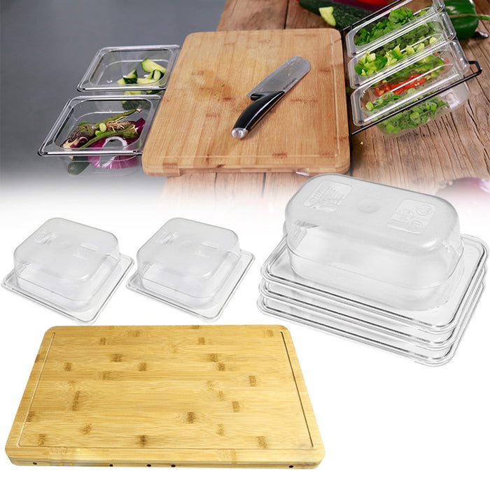 Vegetable Kitchen Cutting Board With Storage Box Food Storage - GEEKMANN✓