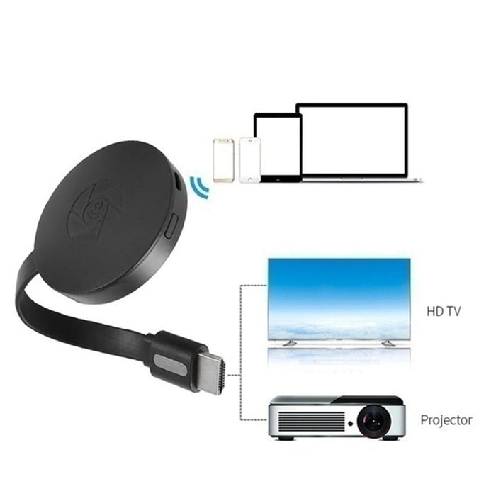WiFi Wireless Display Dongle HDMI Adapter Portable TV Receiver - GEEKMANN✓