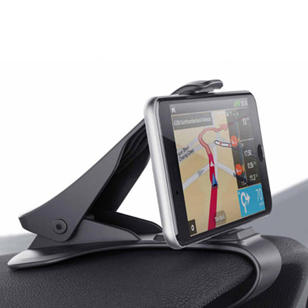 Car Phone Holder GPS Display Bracket Classic Black Car Holder - GEEKMANN✓