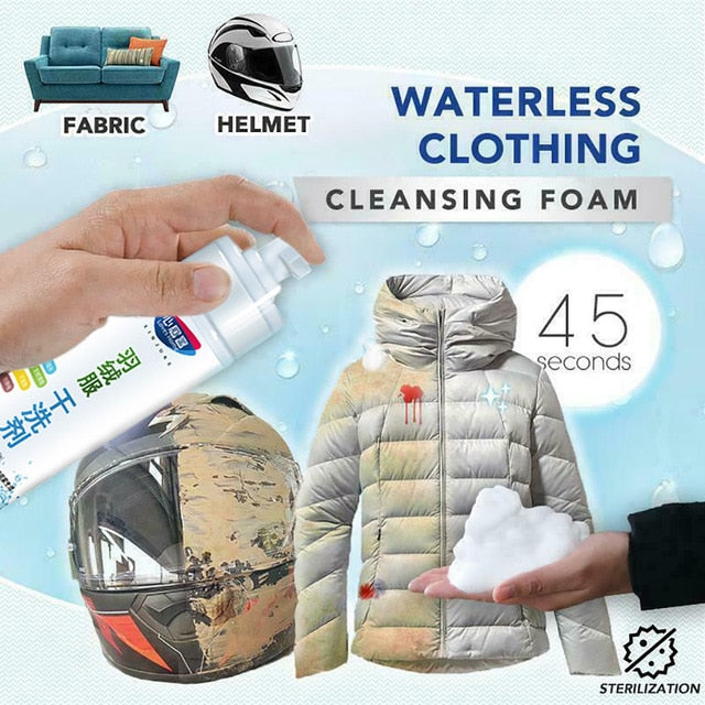 Multifunction Spray Waterless Clothing Cleansing Foam clothes Dry cleaning - GEEKMANN✓