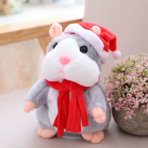 Cheeky Hamster Talking Toy Sound Kid Gift Hamster Villus - GEEKMANN✓