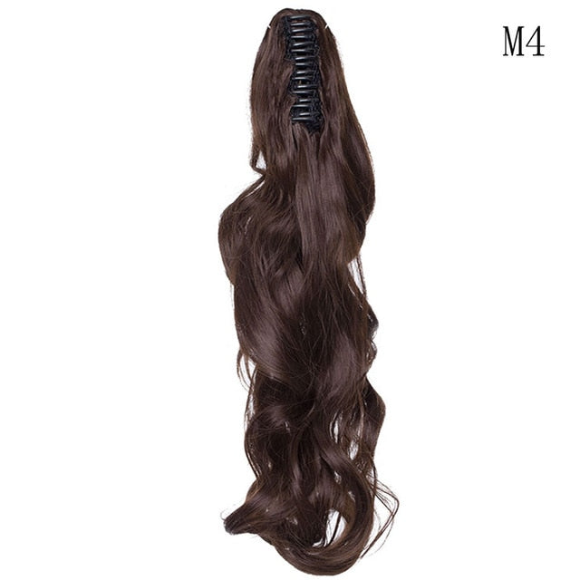 Synthetic hair extension fake ponytail hair piece - GEEKMANN✓