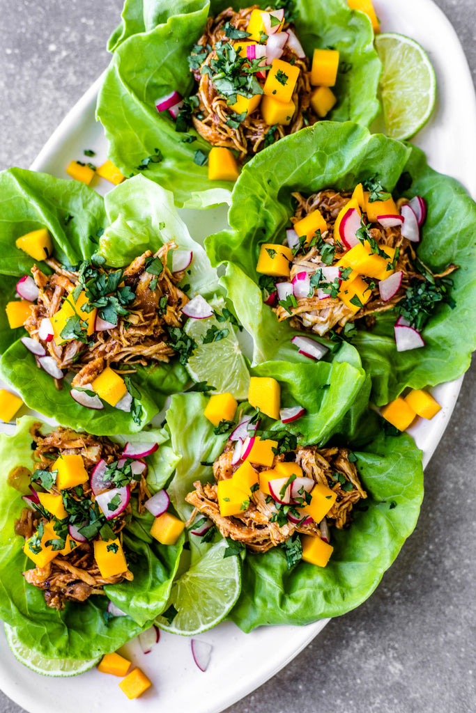 Shredded Mango-Chipotle Chicken