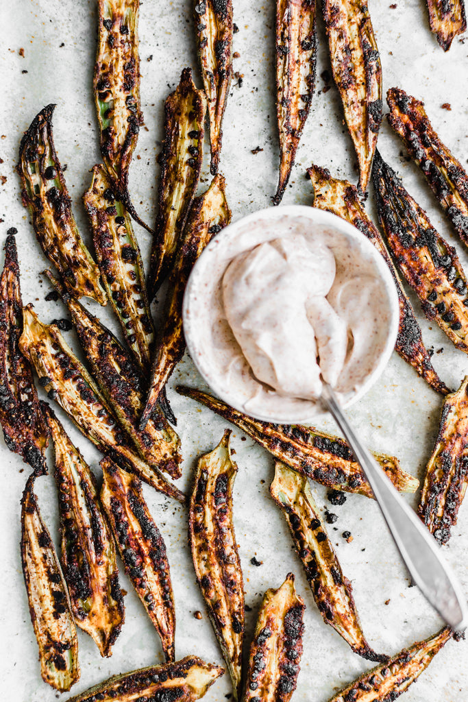Crispy Oven-Roasted Okra