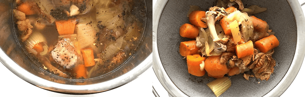 Buck Naked Kitchen -  Instant Pot Chicken Bone Broth 2