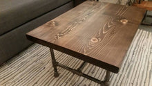 Load image into Gallery viewer, Coffee Table #2 - Pipe And Wood Designs