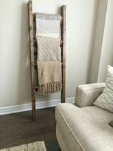 Load image into Gallery viewer, Original Blanket Ladder - Pipe And Wood Designs