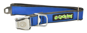 Blue MAX Reflective Collar Medium