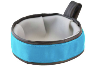 Trail Buddy Collapsible Travel Bowl in Blue
