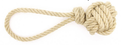 Monkey Fist Hemp Rope