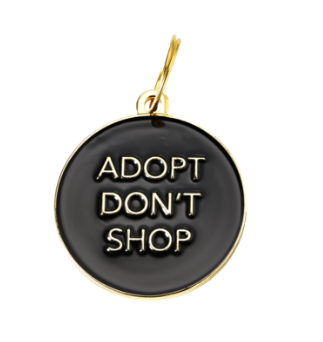 Adopt Don't Shop - Black