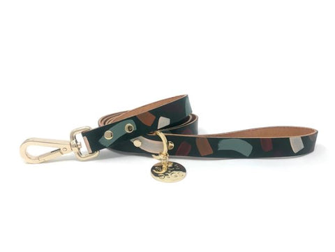 Chiaro Forest Leather Leash
