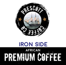 Load image into Gallery viewer, Iron Side African Coffee - Prescott Coffee