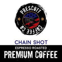 Load image into Gallery viewer, Chain Shot Espresso 6 Bean Coffee - Prescott Coffee