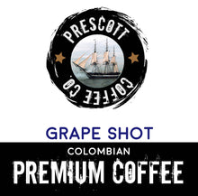 Load image into Gallery viewer, Grape Shot Colombian Coffee - Prescott Coffee