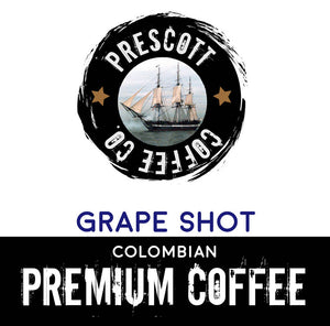 Grape Shot Colombian Coffee - Prescott Coffee