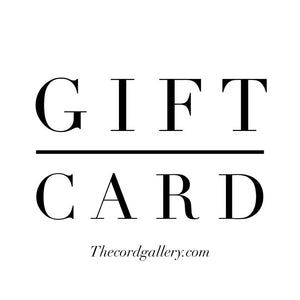 Gift Card to The Cord Gallery - Choose Your Amount