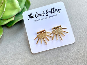 Minimalist Bar Fringe Earring Jackets