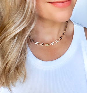 Chunky Mariner Chain Link Necklace