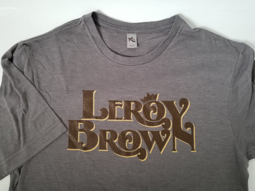 Leroy Brown Unisex Crew Neck-Grey
