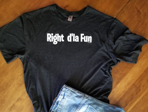 Right d'la Fun Crew Neck