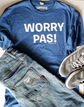 Load image into Gallery viewer, Worry Pas! Crew Neck T