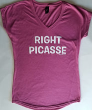 Load image into Gallery viewer, Right Picasse - V neck T
